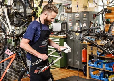 MTB suspension workshop